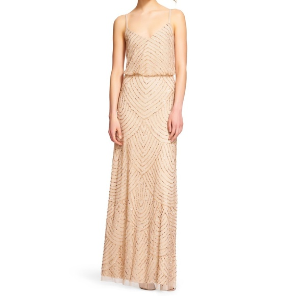 8a4d914fc1e Adrianna Papell Dresses   Skirts - Adrianna Papell Art Deco Blouson Beaded  Gown